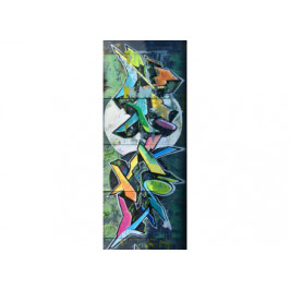 Glasgarderobe Grafitti