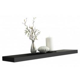 Wandboard Shelvy schwarz 80 cm breit