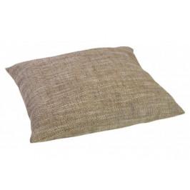 Bodenkissen Tweed 60 x 60 cm braun
