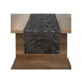 Tischläufer Eaton Circle anthrazit 40 x 160 cm