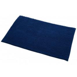 Badematte Chenille dunkelblau 50 x 80 cm