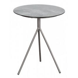 Tisch Willington Edelstahl HPL ø 48cm deVries