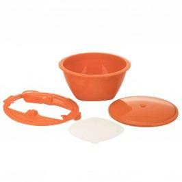 Börner Multimaker - vollfarbig: Schüssel mit Frischhaltedeckel, Sieb & Multiplate