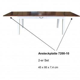 Ansteckplatten im 2er Set