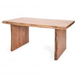Esstisch 160 x 100 cm Akazie Massivholz