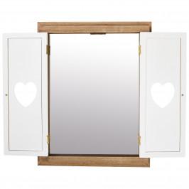 Spiegel mit Flügeltüren JYSTRUP (Two-Tone, Herzen)