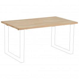 Tischplatte Columbia (90x150, nordic weiß geölt)