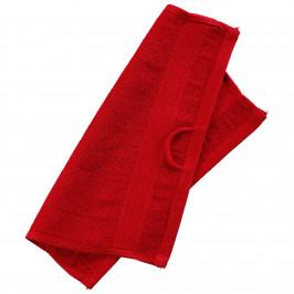 Waschlappen KRONBORG® Classic Line (30x30, rot)