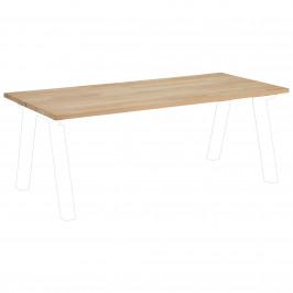 Tischplatte Columbia (90x200, nordic weiß geölt)