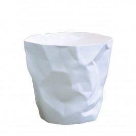 Bin Bin Papierkorb mini weiß