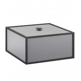 Frame 20 Box mit Deckel dunkelgrau