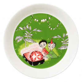 Tofslan & Vifslan roter Rubin Muminteller grün