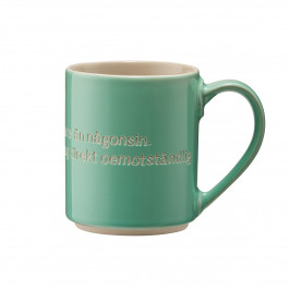 Astrid Lindgren Tasse, I am frecklier… grün-schwedisch