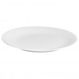 Blond Teller 28 cm stripe weiß