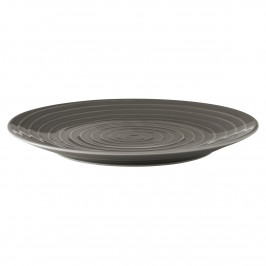 Blond Teller 28 cm stripe grau