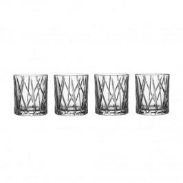 City Old Fashioned Glas 4er Pack 24,5cl