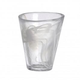 Mine Glas weiß