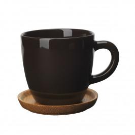 Höganäs Kaffeetasse rinde blank