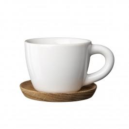 Höganäs Espressotasse weiß glänzend