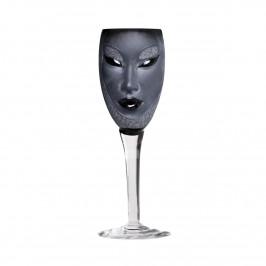 Electra Weinglas schwarzer Kelch