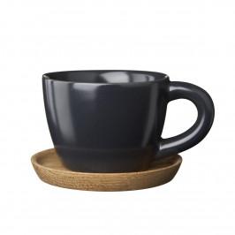 Höganäs Espressotasse grafitgrau matt