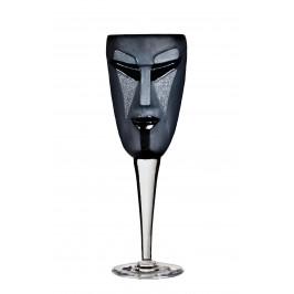 Kubik Weinglas schwarz