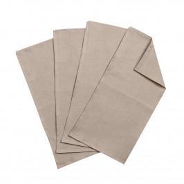 Clean Servietten 45 x 45cm 4er Pack sand