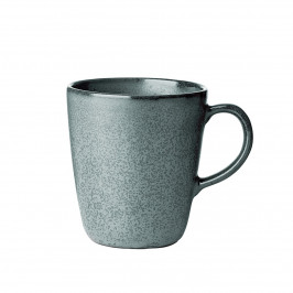 Raw Tasse mit Henkel dunkelgrün