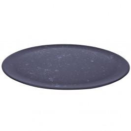 Raw Servierteller Ø 33cm schwarz, gemustert