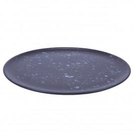 Raw Teller Ø 28cm schwarz, gemustert