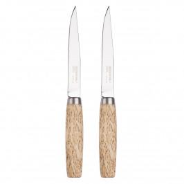 Morakniv Steakmesser 2er Pack Birke
