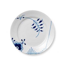 Blue Fluted Mega Teller 2 Ø 19cm