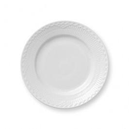 White Fluted Half Lace Teller Ø 17cm