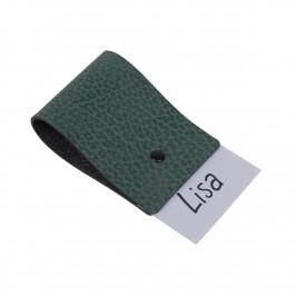 Loop name Serviettenring 4er Pack Pastellgrün