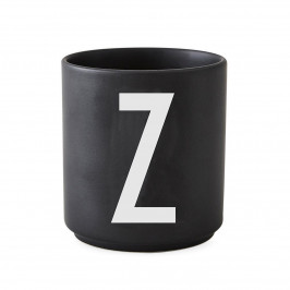 Design Letters Becher schwarz Z