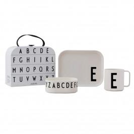 Design Letters Kindergeschirr Set E