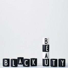 Design Letters Becher schwarz P