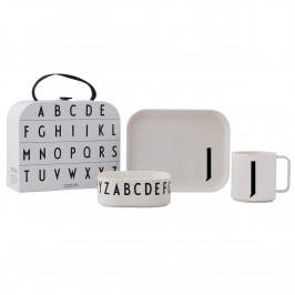 Design Letters Kindergeschirr Set J
