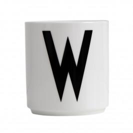 Design Letters Becher weiß W