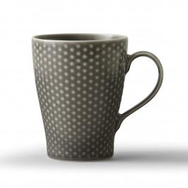 Blond Tasse grau, gepunktet