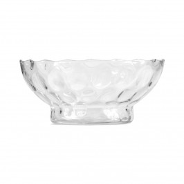 Glass bowl no. 51 Clear dots