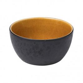 Bitz Schale Ø 14cm schwarz schwarz-amber