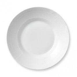 White Elements tiefer Teller Ø 28cm