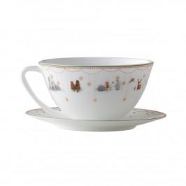 Julemorgen Story Teetasse weiß-multi