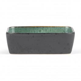 Bitz Auflaufform schwarz 19 x 14cm grün