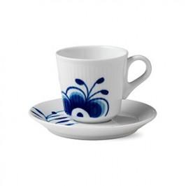 Blue Fluted Mega Espressotasse 9cl