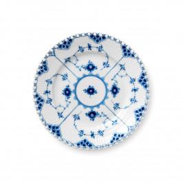 Blue Fluted Full Lace Teller Ø 17cm