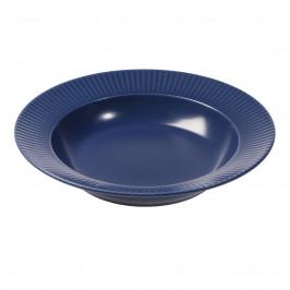 Groovy tiefer Teller Ø 23cm blau