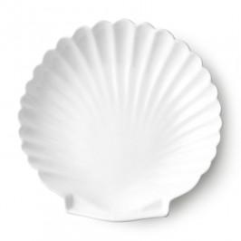 Athena Shell Servierteller 20cm weiß