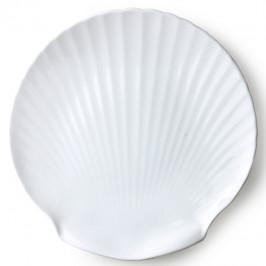 Athena Shell Servierteller 27cm weiß